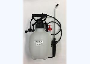 車外用の消毒用噴霧器の常備をさせています。